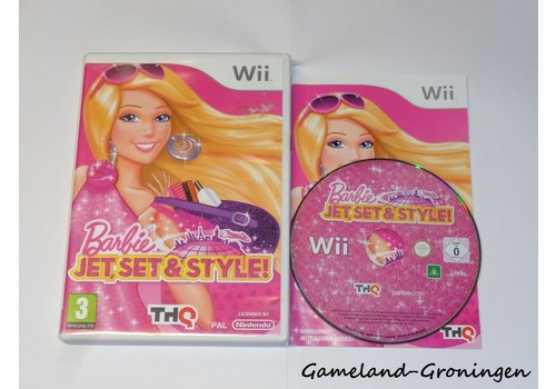 Barbie Jet, Set & Style! (Compleet)
