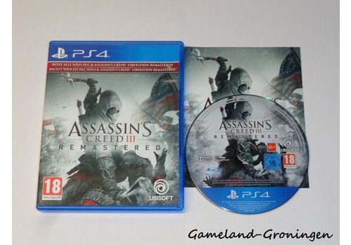 Assassin's Creed III Remastered (Compleet)