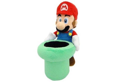 Super Mario - Warp Pipe Plush 23 cm