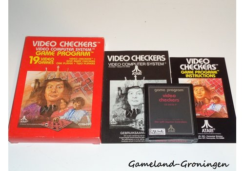 Video Checkers (Boxed)