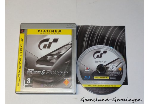 Gran Turismo 5 Prologue (Compleet, Platinum)