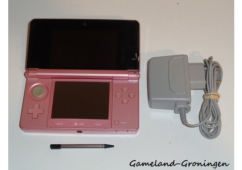 Nintendo 3DS with Stylus & Charger (Pink)