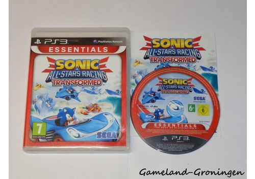 Sonic & All-Stars Racing Transformed (Complete, Essentials)