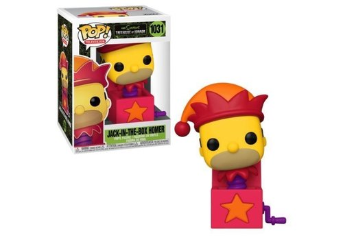 The Simpsons POP! - Homer Jack-In-The-Box