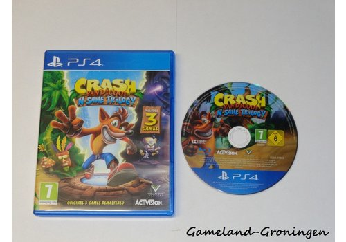 Crash Bandicoot N. Sane Trilogy (Complete)