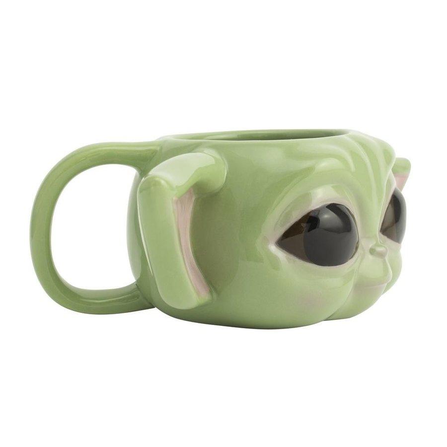 Star Wars The Mandalorian - The Child / Baby Yoda Shaped Mug (New)