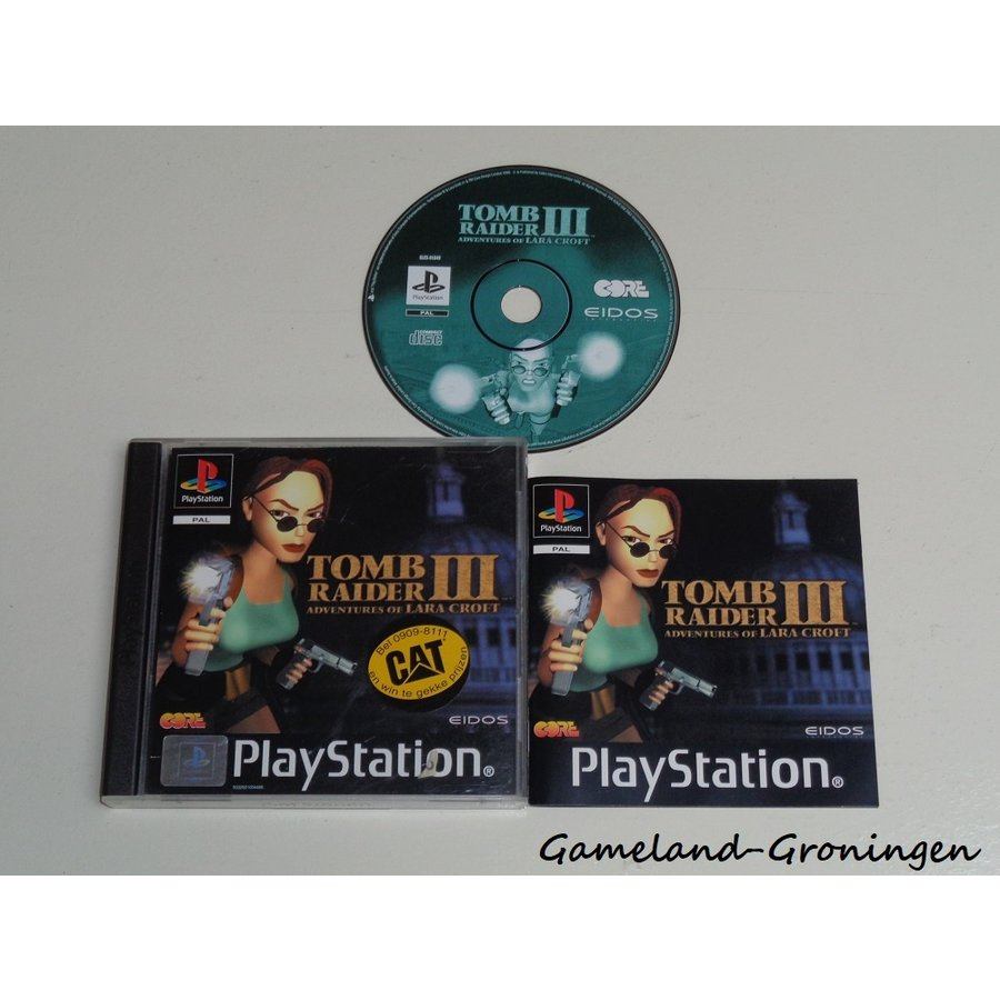 Tomb Raider III (Complete)