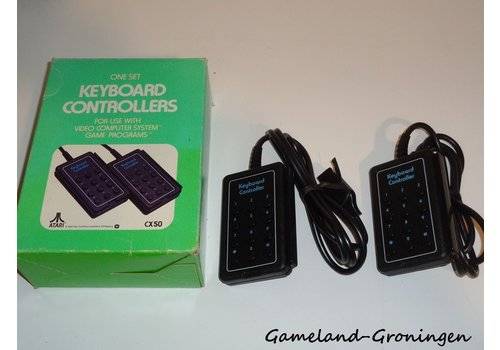 Atari 2600 Keyboard Controllers (Boxed)