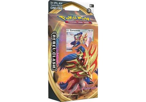 Pokémon TCG - Sword & Shield Rebel Clash Theme Deck Zamazenta