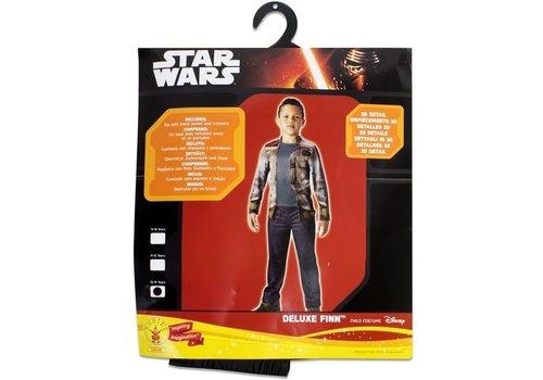 Star Wars The Force Awakenings - Deluxe Finn Child Kostuum