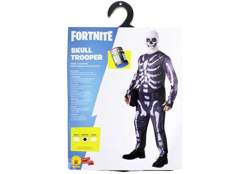 Fortnite - Skull Trooper Adult Kostuum