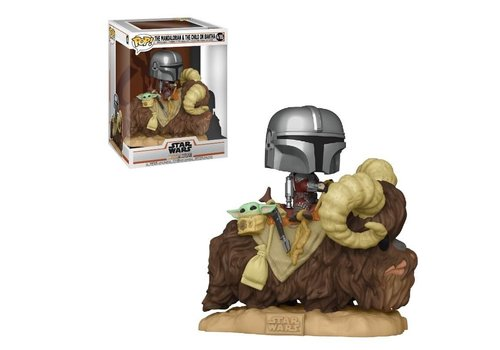 Star Wars Mandalorian POP! - The Mandalorian & The Child / Baby Yoda on Bantha
