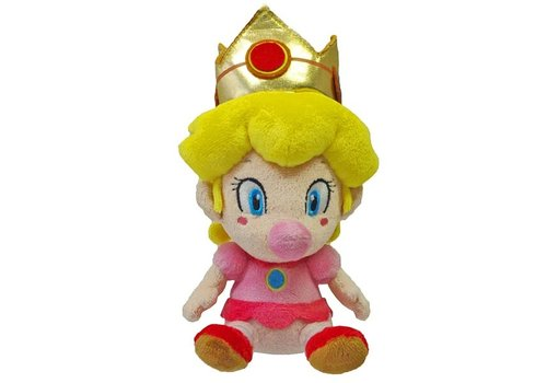 Super Mario - Baby Peach Knuffel 15 cm