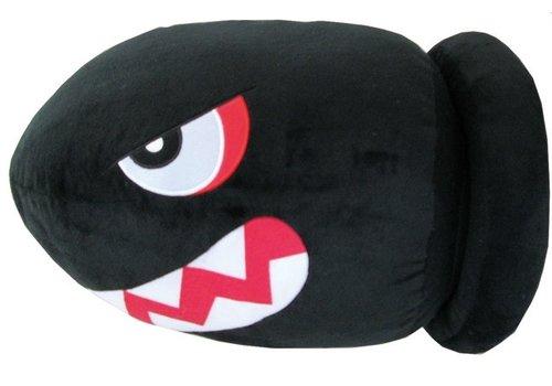 Super Mario - Banzai Bill Knuffel 35 cm