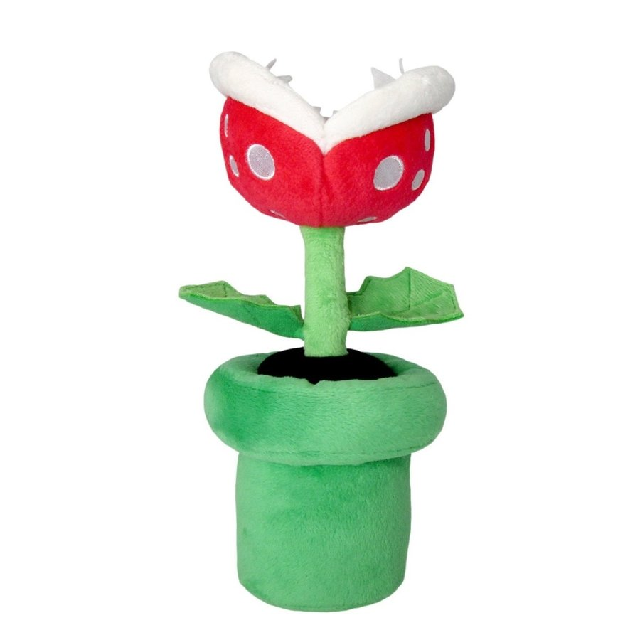 Super Mario - Piranha Plant Plush 23 cm (New)