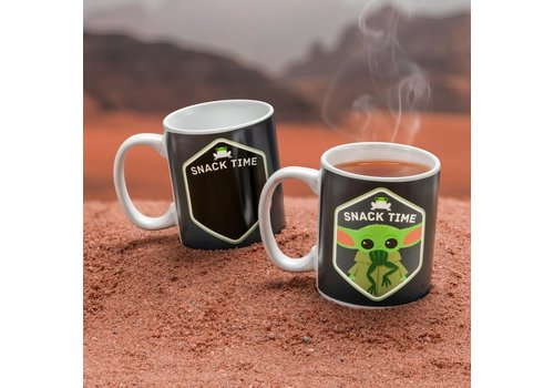 Star Wars The Mandalorian - The Child / Baby Yoda Heat Change Mug