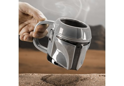 Star Wars The Mandalorian - The Mandalorian Shaped Mug