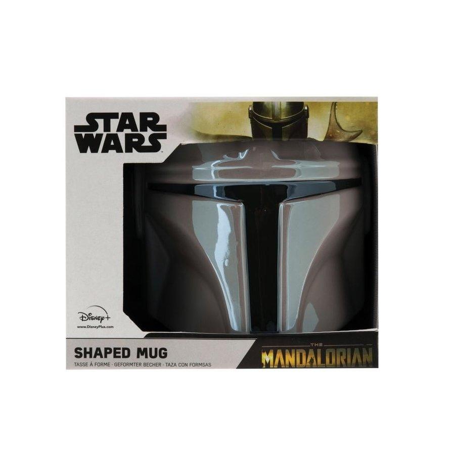 Star Wars The Mandalorian - The Mandalorian Shaped Mug (New)