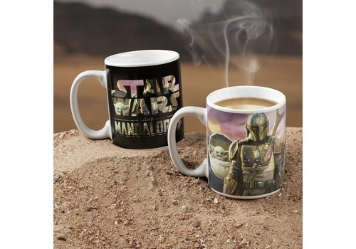 Star Wars The Mandalorian - The Mandalorian Heat Change Mug