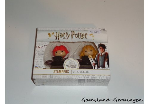 Harry Potter Stampers 2-Pack - Flying Ron + Flying Hermione