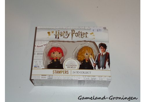 Harry Potter Stampers 2-Pack - Ron + Hermione
