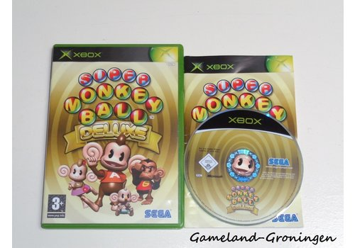 Super Monkey Ball Deluxe (Complete)