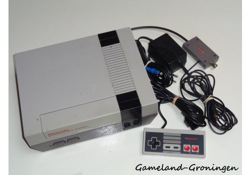 Nintendo NES with Controller & Wiring
