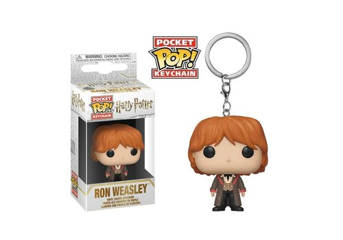 Harry Potter Pocket POP Sleutelhanger - Ron Weasley