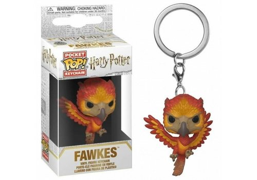 Harry Potter Pocket POP Sleutelhanger - Fawkes