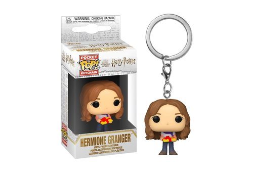 Harry Potter Holiday Pocket POP Keychain - Hermione Granger
