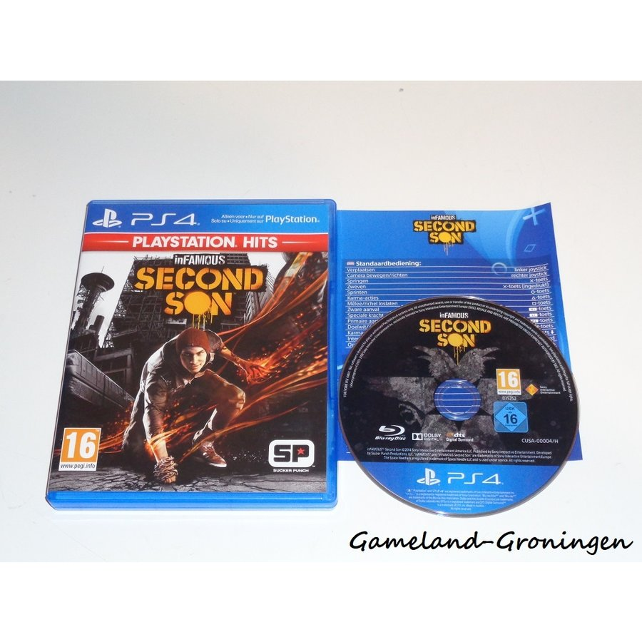 inFamous Second Son (Compleet, PlayStation Hits)