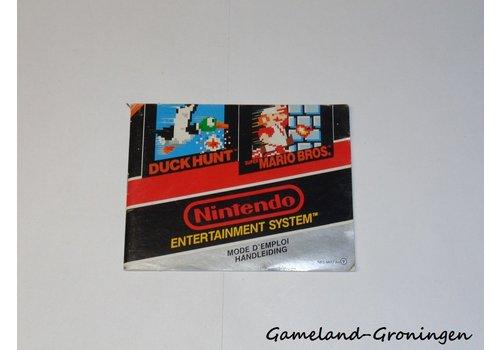 Super Mario Bros & Duck Hunt (Handleiding, FAH)