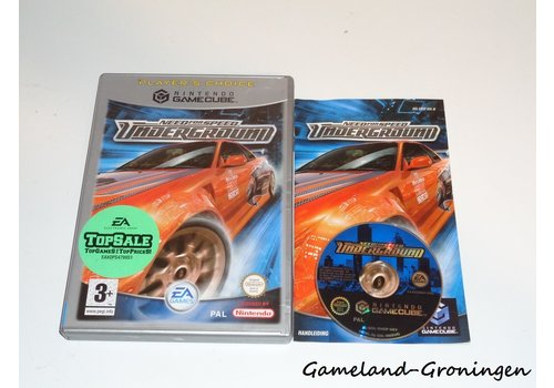 Need for Speed Underground (Complete, Player's Choice, HOL)