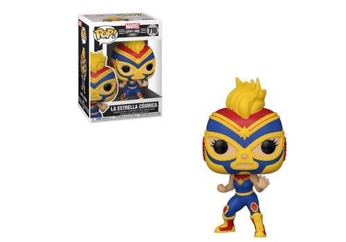 Marvel Lucha Libre POP! - Captain Marvel