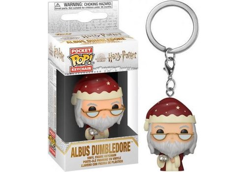 Harry Potter Holiday Pocket POP Keychain - Albus Dumbledore