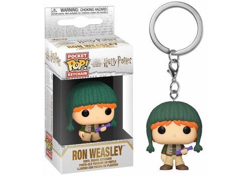 Harry Potter Holiday Pocket POP Sleutelhanger - Ron Weasley