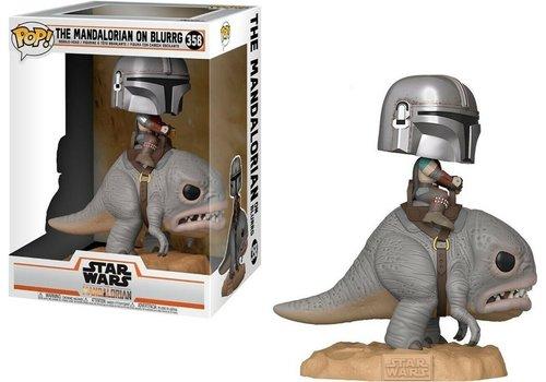 Star Wars The Mandalorian POP! - The Mandalorian on Blurrg