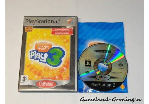 Eye Toy Play 3 (Compleet, Platinum)