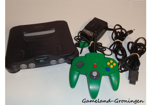 Nintendo 64 with Controller & Wiring (USA)