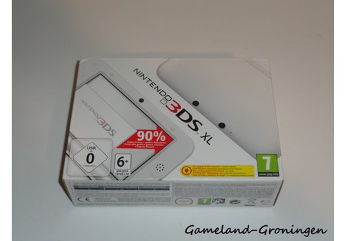 Nintendo 3DS XL with Stylus & Charger (Complete, White)