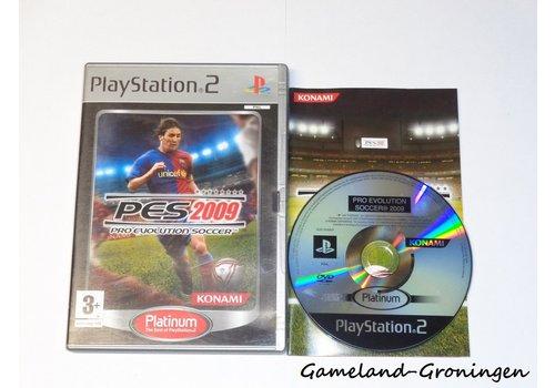 Pro Evolution Soccer 2009 (Complete, Platinum)