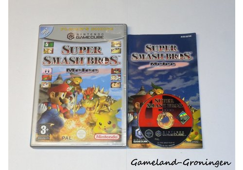 Super Smash Bros Melee (Complete, Player's Choice, HOL)