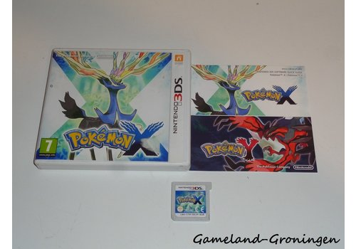Pokemon X (Complete, HOL)