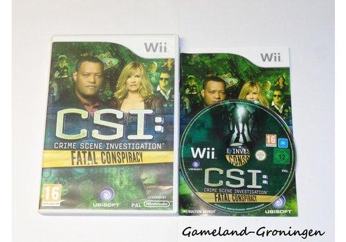 CSI Crime Scene Investigation Fatal Conspiracy (Compleet, UXP)