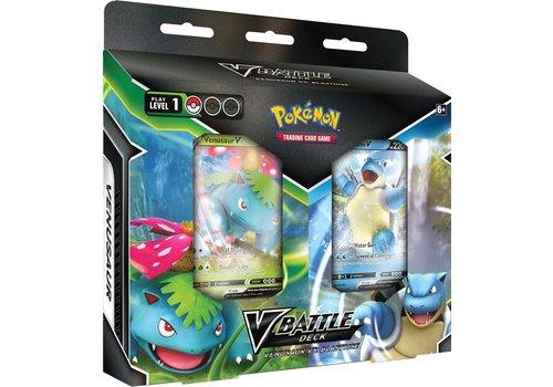 Pokémon TCG - V Battle Decks Bundle Venusaur vs. Blastoise