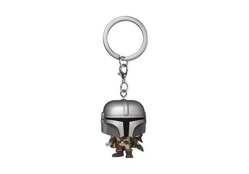 Star Wars The Mandalorian Pocket POP Keychain - The Mandalorian