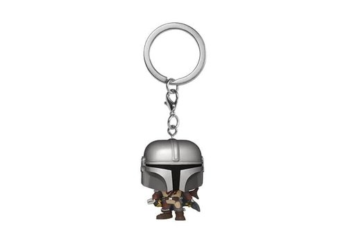 Star Wars The Mandalorian Pocket POP Sleutelhanger - The Mandalorian