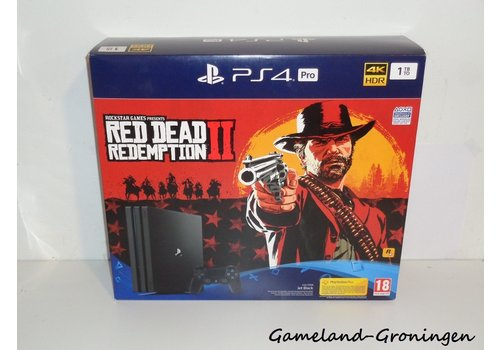 PlayStation 4 Pro 1TB - Red Dead Redemption II Bundle