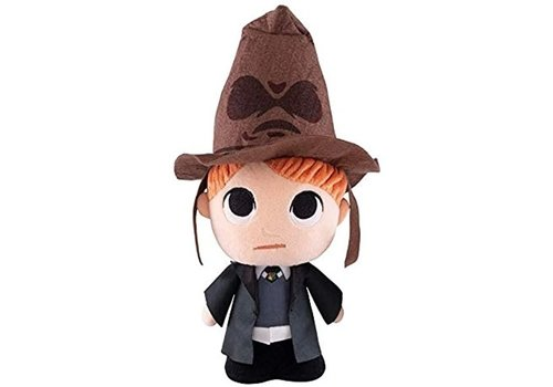 Harry Potter - Ron Weasley with Sorting Hat Knuffel 27 cm