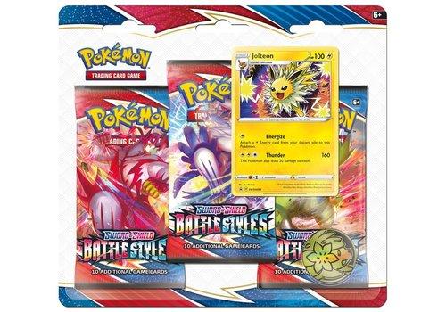 Pokémon TCG - Sword & Shield Battle Styles Booster Blister Jolteon